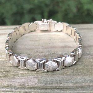 Vintage Solid Sterling Silver Bracelet